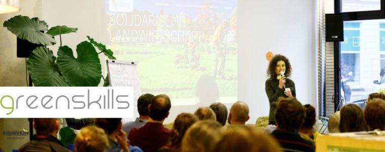 Wir sehen uns am Nachhaltigkeits-Symposium von greenskills