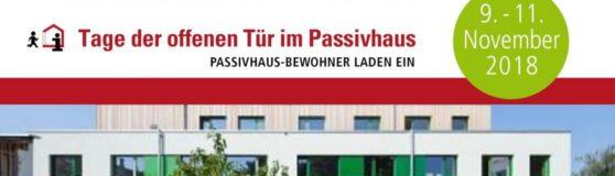 6 Strohhäuser an den Tagen des Passivhauses 2018 geöffnet!