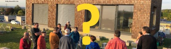 Umfrage zur nächsten Strohhaus-Besichtigungstour