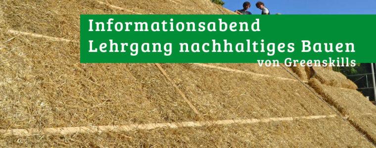 Online-Infoabend zum nachhaltigen Bauen