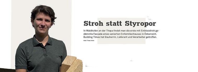 """Beitrag """"Stroh statt Styropor"""""""